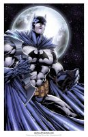 Batman print.... by adelsocorona