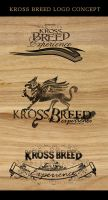 kross breed logo by DesignPot