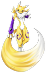Digimon Collab - Renamon by allocen