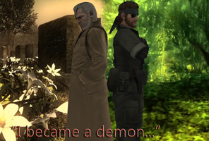 Metal Gear Solid Big Boss - I became a demon... by SOLIDCAL