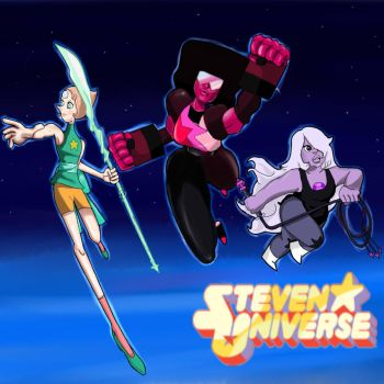 The Crystal Gems by Axels-inferno