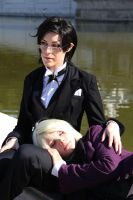 Claude and Alois I by Kewpiecat