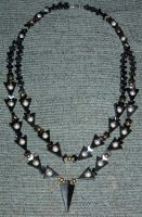 Double-Stranded Hematite by Heatherbeast