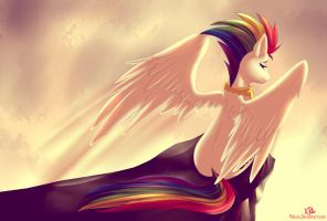 Super Rainbow Dash by pshyzo
