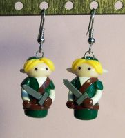 Link earrings by Gimmeswords
