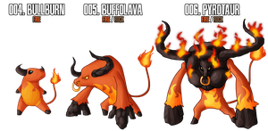 Fakemon: Fire Starter by MTC-Studio