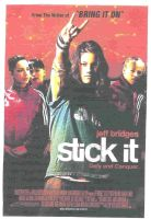Stick It Movie Poster by bazookabubblegum