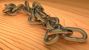 Chain with blender by jensdevries