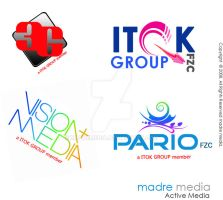 New ITOK GROUP logos by MadreMedia
