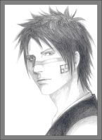 Hisagi in realistic style by Funny-M