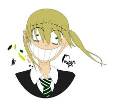 MS Paint-Soul Eater Maka by TheLOL