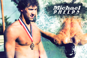 Michael Phelps by shiversofaugust