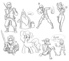 Livestream Doodles 15 by CauseImDanJones