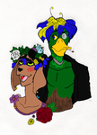 I Wanted To Show My Flowers How Pretty You Are by hydranoid2009