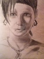 Rooney Mara as Lisbeth Salander by OxBloodrayne1989xO