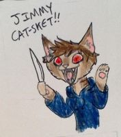Jimmy Cat-sket by ShoobaQueen