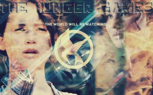 The Hunger Games-Katniss-Wallpaper by Like-an-Utopian