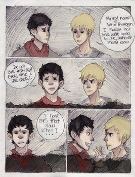 merlin crossover by cake-monster