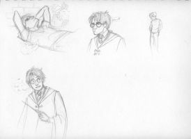Potter Page - Sketches by aspera