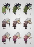 Grandmas Evolution by robertas