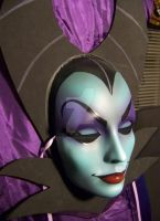 'Maleficent' Mask - In Disney Image - Ha by PiratesQuarters