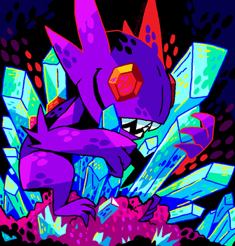 Sableye by Koolaid-Girl