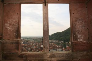 Castle Window of Heidelberg by Krissy1916