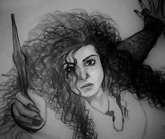 Bellatrix Lestrange by AlyssiaJayde