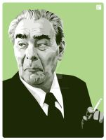 Brezhnev by monsteroftheid