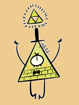 Bill cipher Fanart! by HufeArt