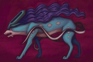 Suicune by pancakesandhalibut