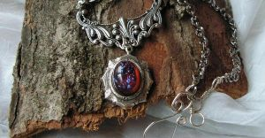 Dragon's Breath Azteca by artistiquejewelry