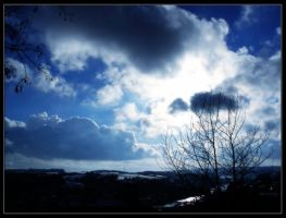 Clouds Over Passau by Ba2