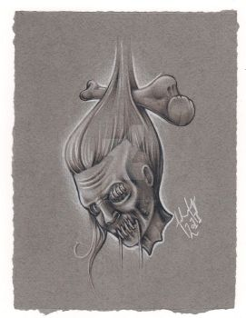 Shrunken Head 01 - Mike Magee by tattoomagoo