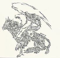 Griffin- .Project Ink. by X24R0C57