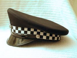 British Police Peaked Cap 04 by Zeds-Stock