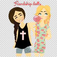 Friendship dolls by Beluu1D