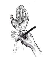 i hold my pencil like a child by captainrosteck