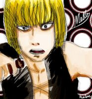 Mello is not amused by Helsic