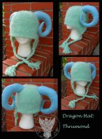 Custom Hat: Thrumond by TheCrochetDragon
