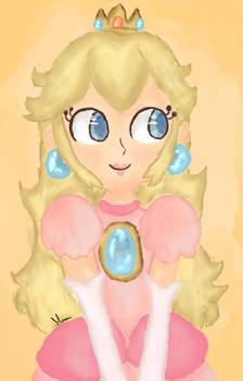 Princess Peach by FaithCreates
