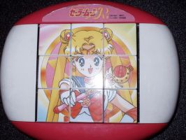 Sailor Moon Cube Puzzle Toy by KittyChanBB