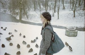Sunday's duck feeding by theearth