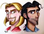 Miguel and Tulio by Mo-Time