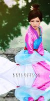Mulan: Reflection by Astellecia