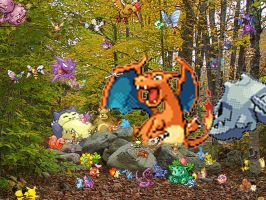 Poke'mon Infested Woods by Graylan