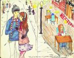 Love is in the air by hunay-burries