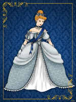 Queen Cinderella- Disney Queen designer collection by GFantasy92