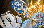 sonic in action by saversteel1