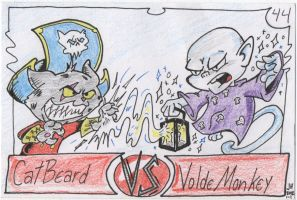 Daily CatBeard 44- vs VoldeMonkey by PlummyPress